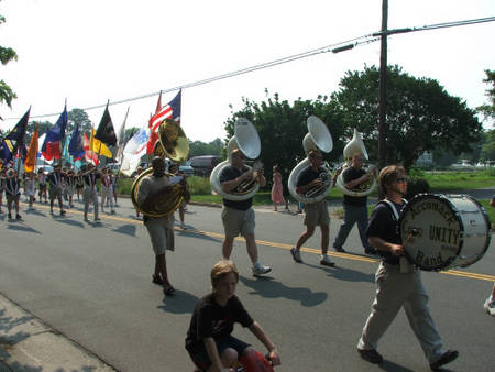 July 4th, 2006 - Accomac Bicycle Parade